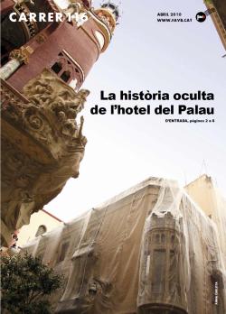 La història oculta de l'hotel del Palau