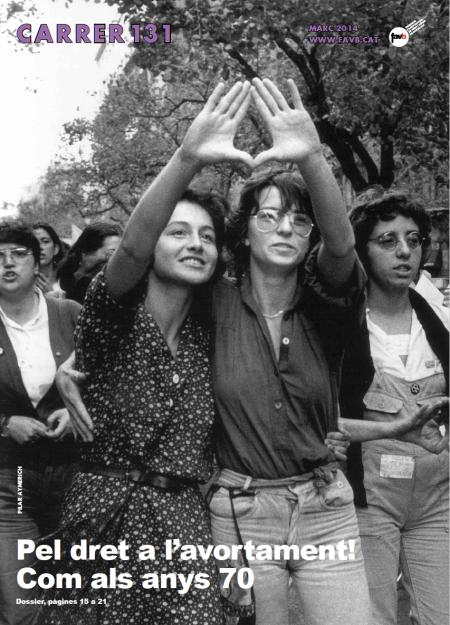 Pel dret a l'avortament, com als anys 70